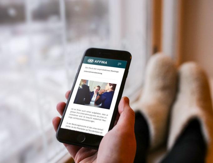 treuhand baselland mobile website