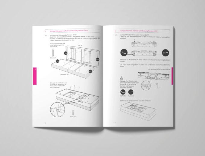 grafikdesign bedienungsanleitung